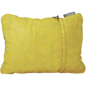 Therm-a-Rest Compressible Almohada XL, yellow print